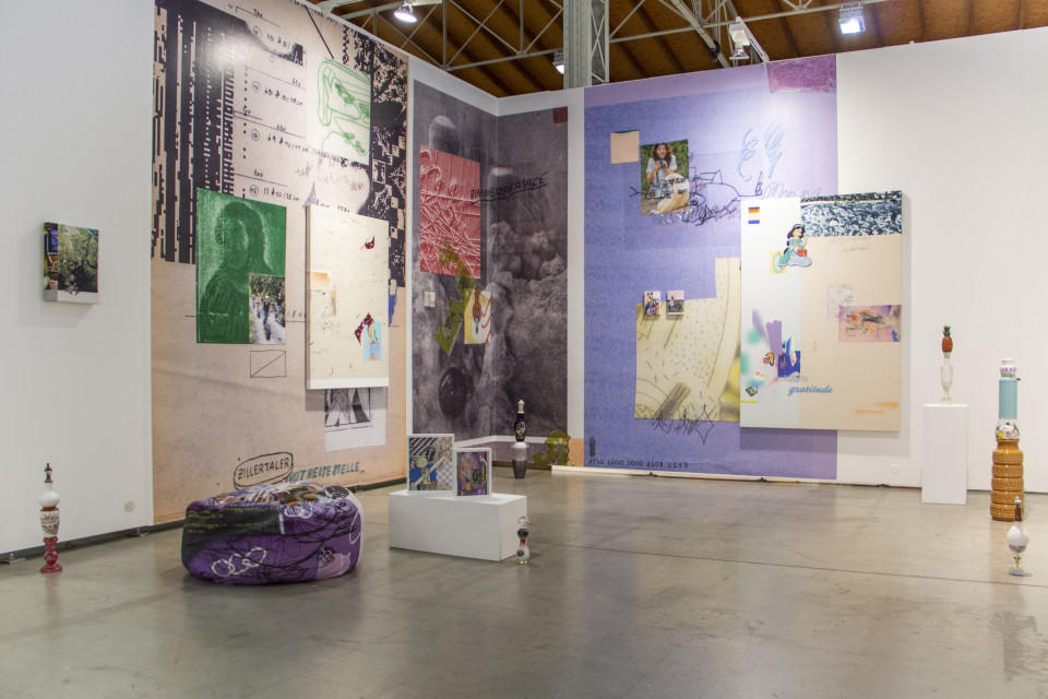 Nana Mandl, Exhibition view 'Vienna Contemporary 2018'