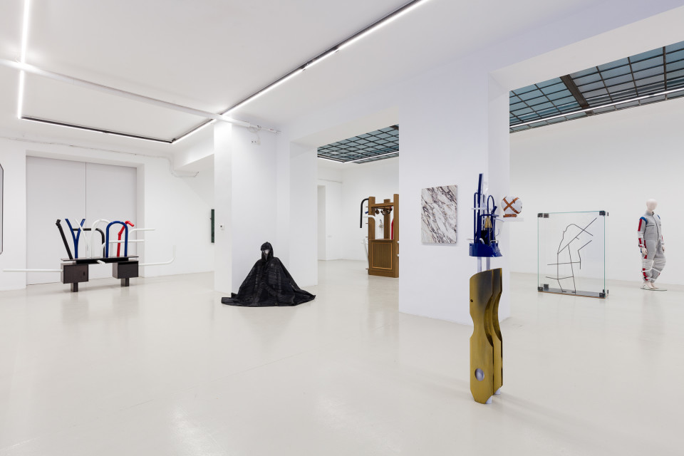 George Henry Longly Installation View III: BENTHOS, 2019