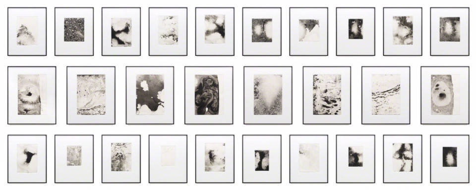 Maximilian Prüfer, Water Study Moments 1-30, 2016
