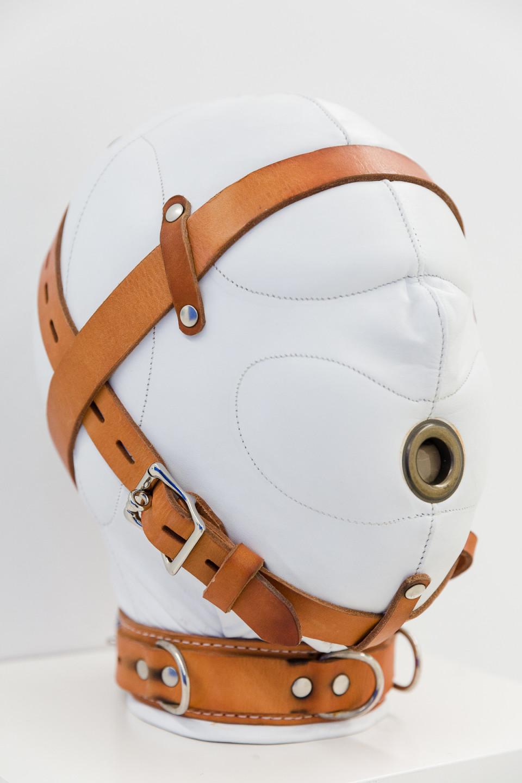 George Henry Longly Industrial Debts, 2018 sensory-deprivation mask (Provenance: Palais de Tokyo) 32 x 30 x 18 cm 12 5/8 x 11 3/4 x 7 1/8 in