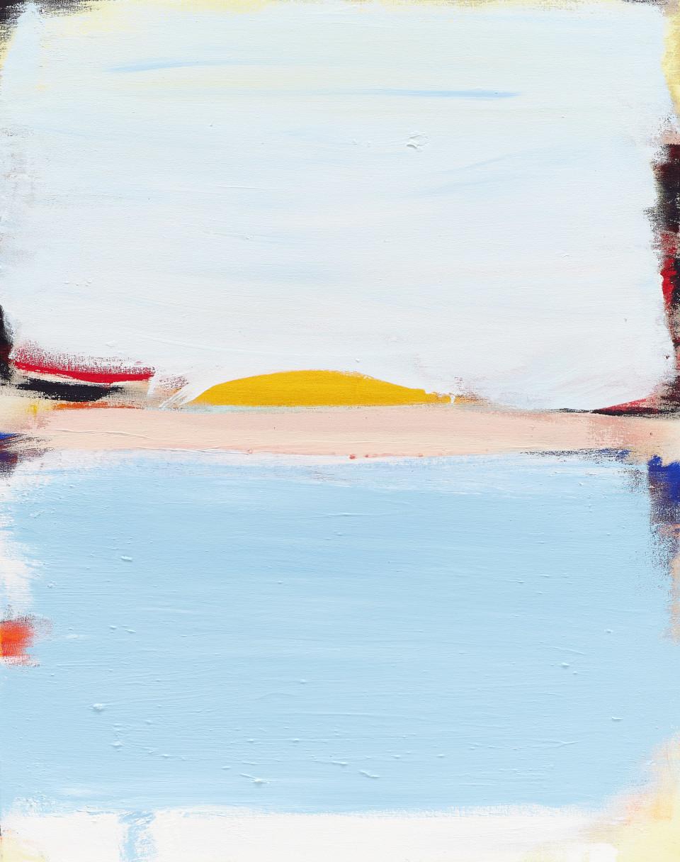 Grear Patterson Atlanta de Cadenet, 2018 Oil on Canvas 120 x 95 cm 47.5 x 37.5 in