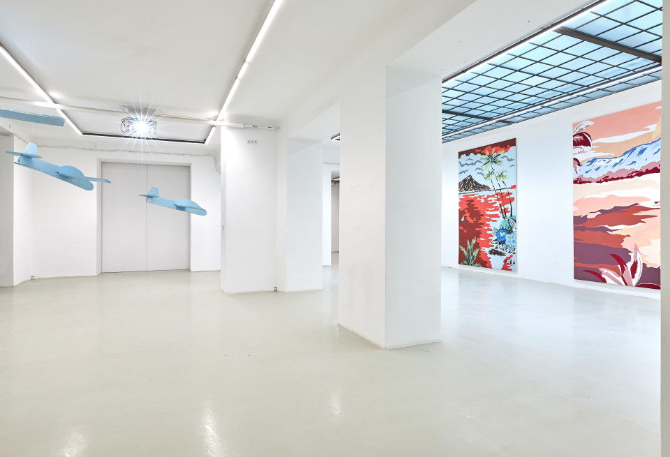 Grear Patterson Installation View IV, Planes & Mountains, 2019
