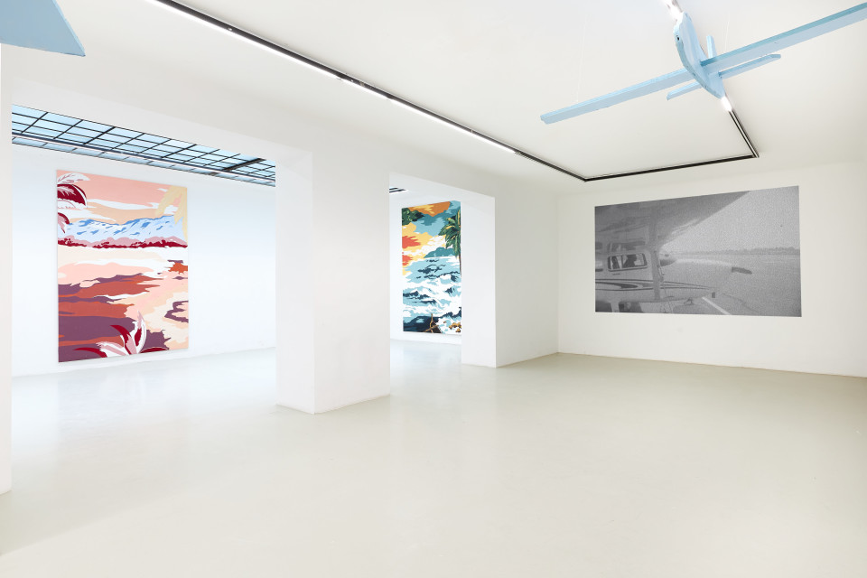 Grear Patterson Installation View V, Planes & Mountains, 2019