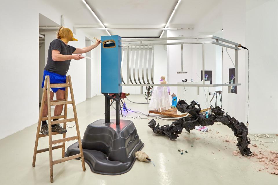 Karl Karner, Installation view