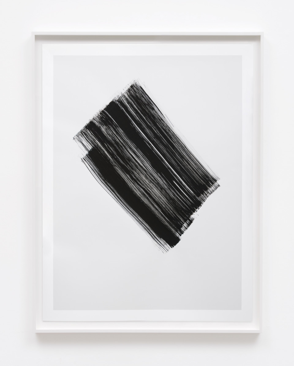 Image: Phil Chang  Replacement Ink for Epson Printers (Matte Black on 10% Grey 344301) on Epson Enhanced Matte Paper, 2017  signed and dated verso  unique archival pigment print  47 x 36 inches
