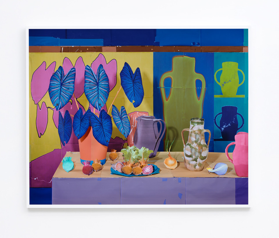 Image: Daniel Gordon  Onions and Beets, 2017  signed and numbered verso  archival pigment print  49-3/4 x 62 inches  edition of 3 plus 1 artist's proof