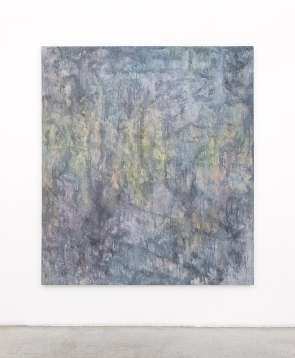 Image: Jean-Baptiste Bernadet  Untitled (March), 2018  signed, titled and dated  oil on canvas  74 3/4 x 66 7/8 inches (190 x 170 cm)