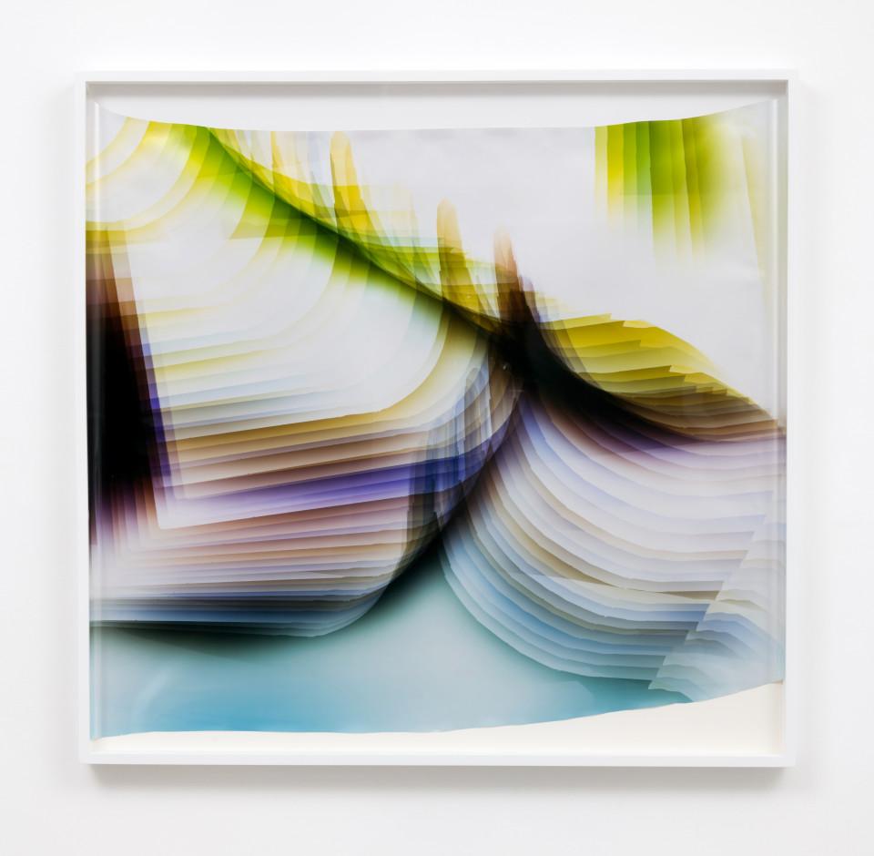 Image: Mariah Robertson  256, 2017  unique chromogenic print  47 1/2 x 49 inches (120.7 x 124.5 cm)