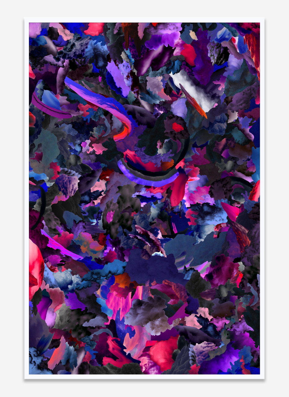 Image: Case Simmons  Clouds Z, 2019  pigment print in artist's frame  60 x 40 inches (152.4 x 101.6 cm)  edition of 1 plus 1 artist's proof