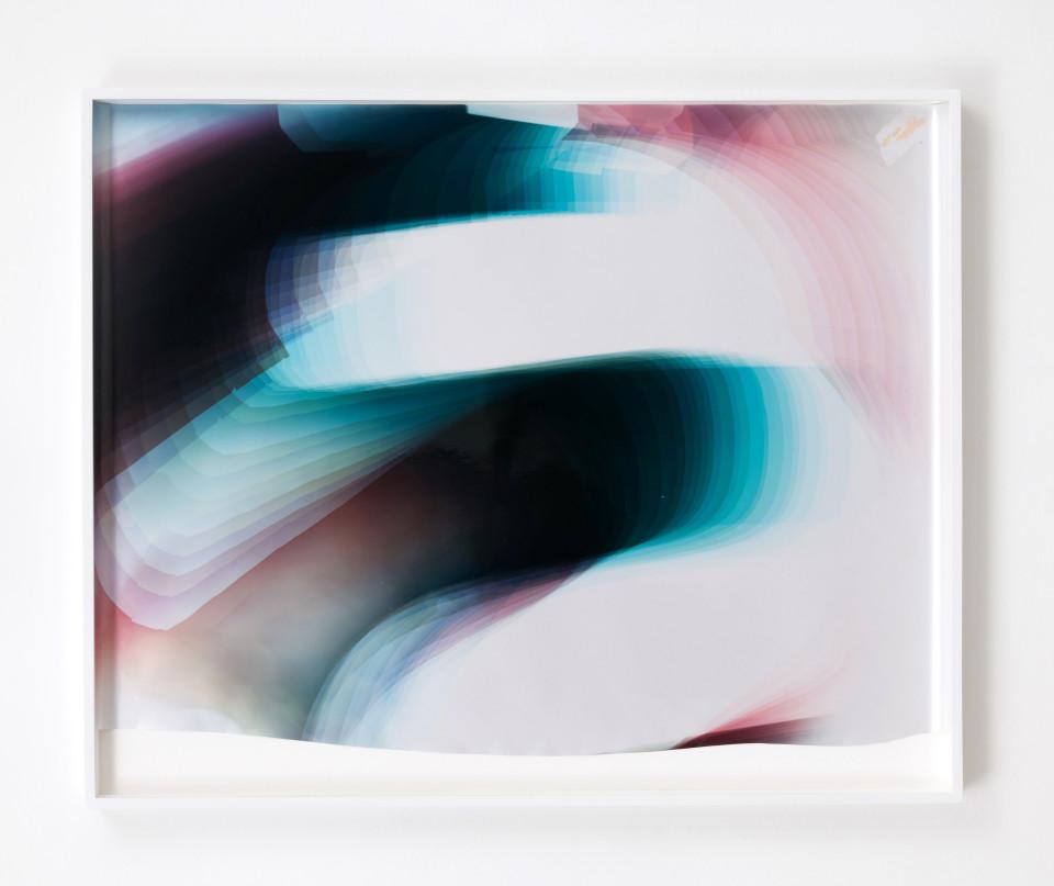 Image: Mariah Robertson  274, 2017  unique chromogenic print  39 1/2 x 49 inches (100.3 x 124.5 cm)