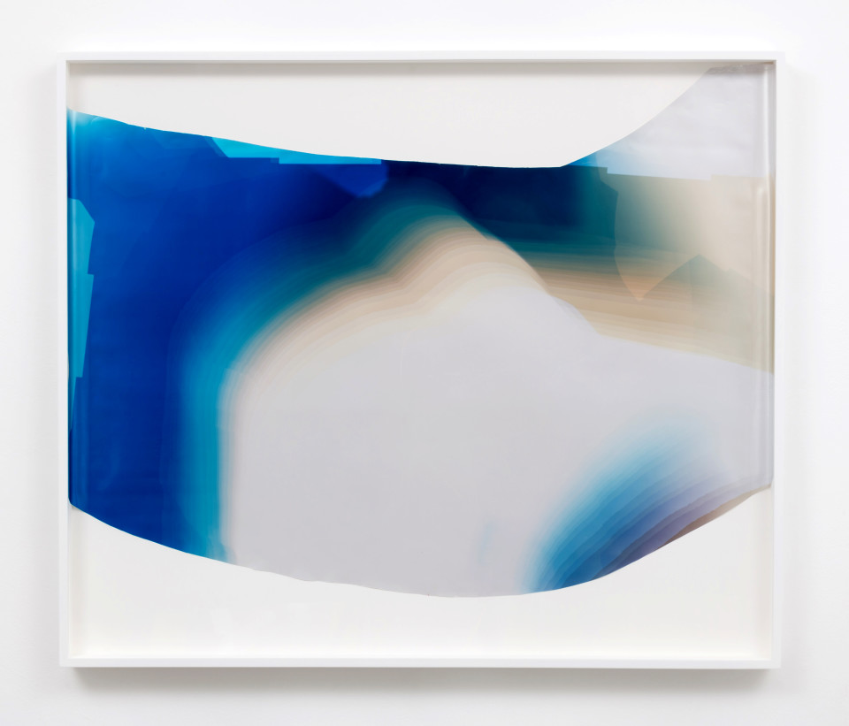 Image: Mariah Robertson  317, 2017  unique chromogenic print  41 1/2 x 49 inches (105.4 x 124.5 cm)