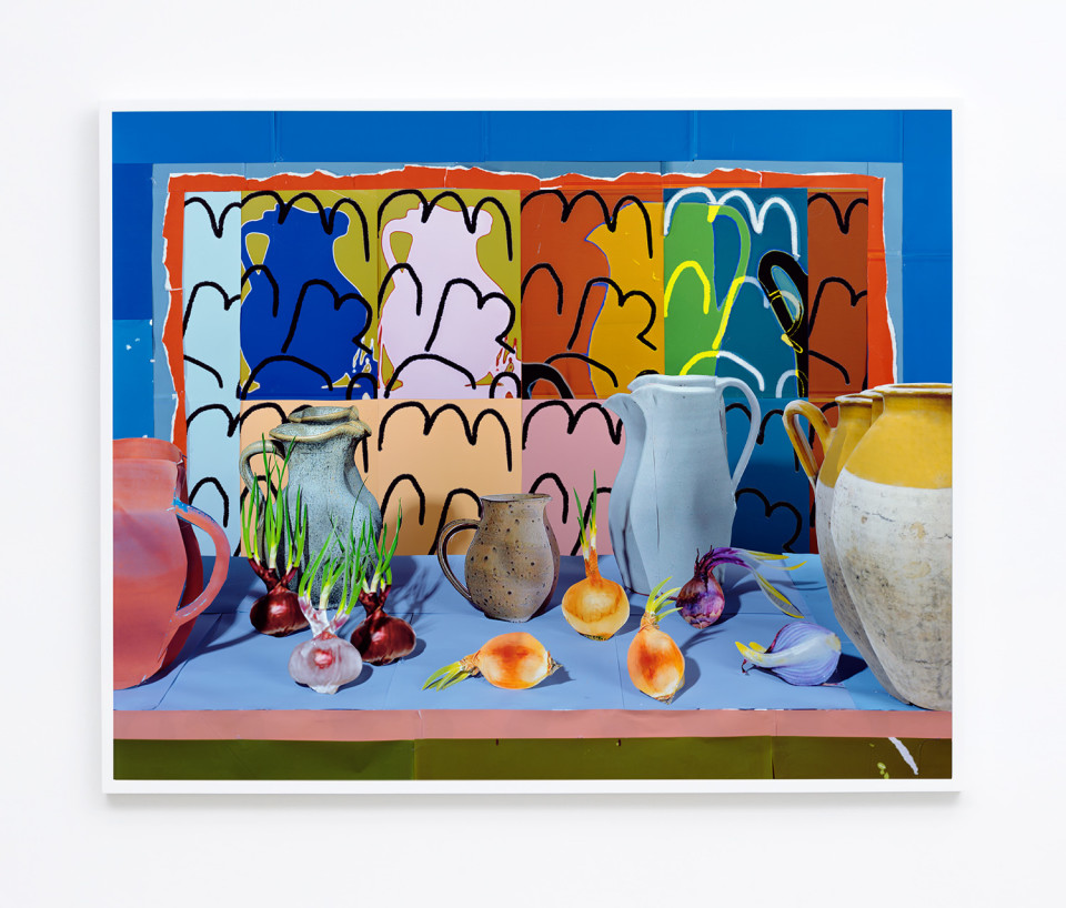 Image: Daniel Gordon  Summer Onions, 2016  archival pigment print  39-3/4 x 49-3/4 inches  edition of 3 plus 1 artist's proofs