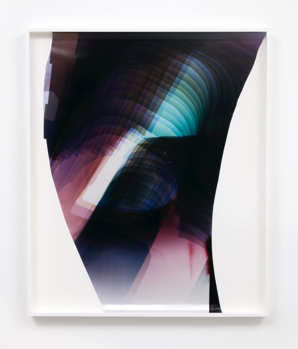 Image: Mariah Robertson  291, 2017  unique chromogenic print  49 x 41 1/2 inches (124.5 x 105.4 cm)