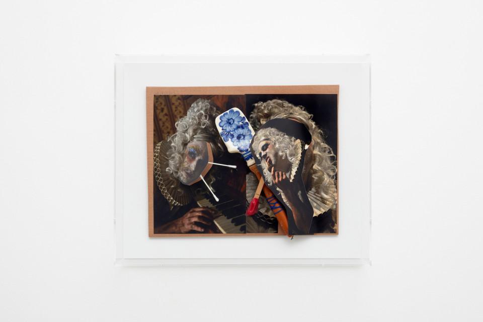 John Bock Ohne Titel, 2017 52 x 42 x 11.5 cm 20 1/2 x 16 1/2 x 4 1/2 in