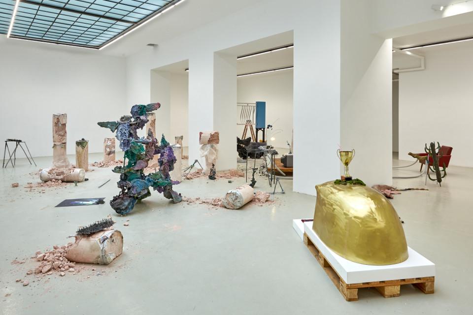 "Karl Karner Installation view ""AFFUS"", 2019"