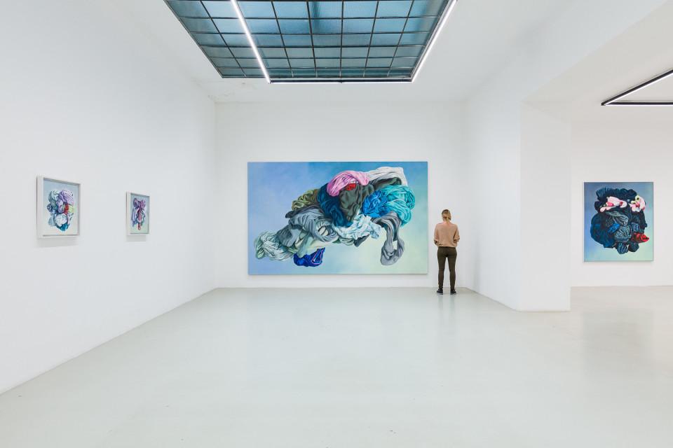 Alina Kunitsyna Installation View VIII: Helium ecstasy, 2019