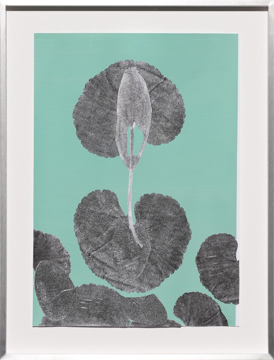 Frauke Dannert  Ohne Titel, 2018  Paper Collage  29 x 21 cm 11 3/8 x 8 1/4 in