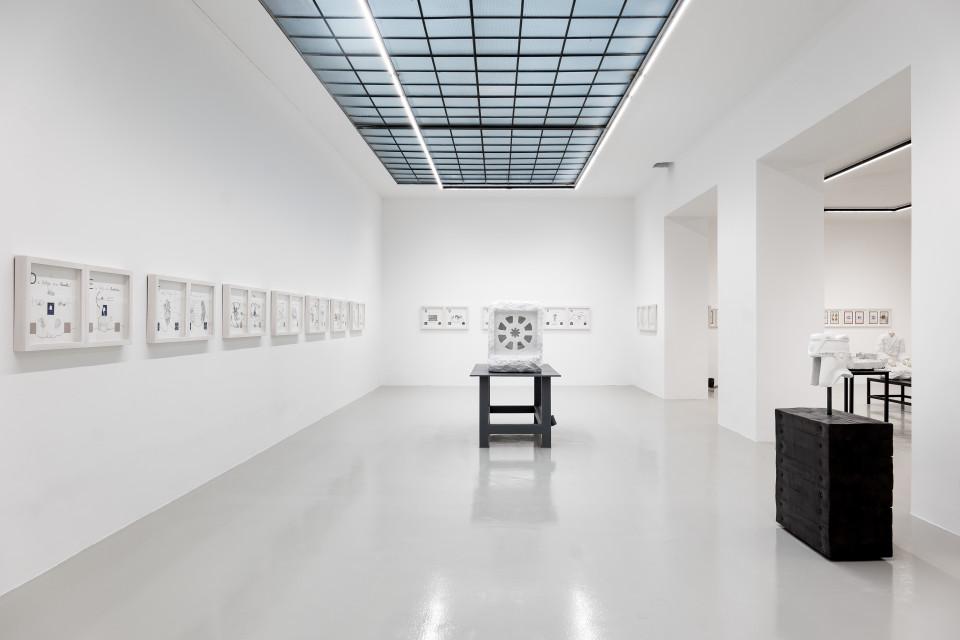 """Markus Redl """"Mudras"""" Installation View No.1, 2017"""