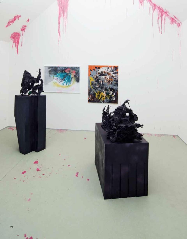 Karl Karner, ausstellungsansicht eisenberger vs. karner, galerie artepari ∙ 2012, 2012