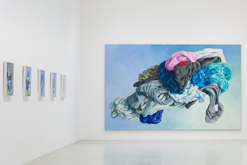 Alina Kunitsyna Installation View III: Helium ecstasy, 2019