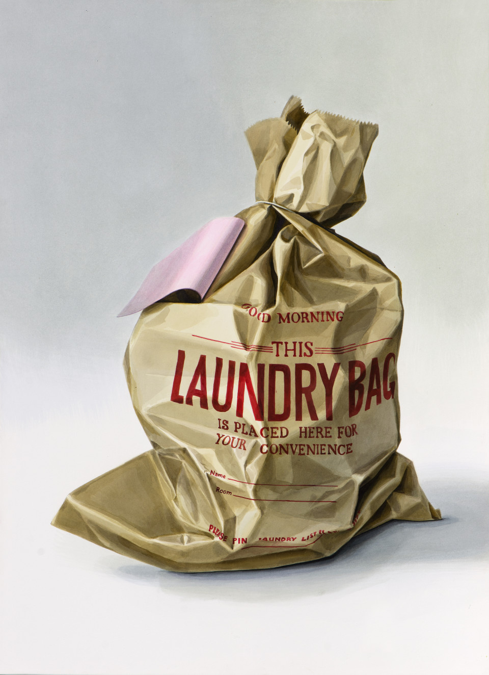 Alina Kunitsyna Laundry Bag 2, 2019 Ink on paper 105 x 76 cm 41 3/8 x 29 7/8 in