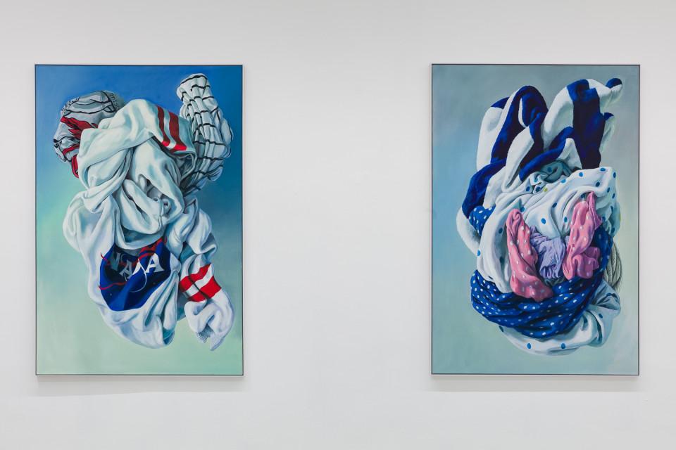 Alina Kunitsyna Installation View XI: Helium ecstasy, 2019