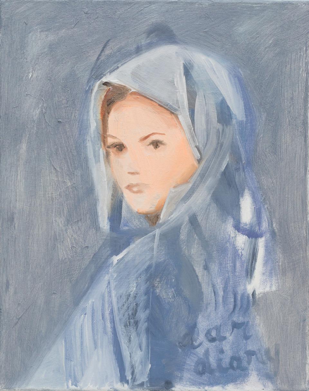 Nathalie Shepherd Dear Diary, 2015 Oil on Canvas 40.6 x 50.8 cm 16 x 20 in