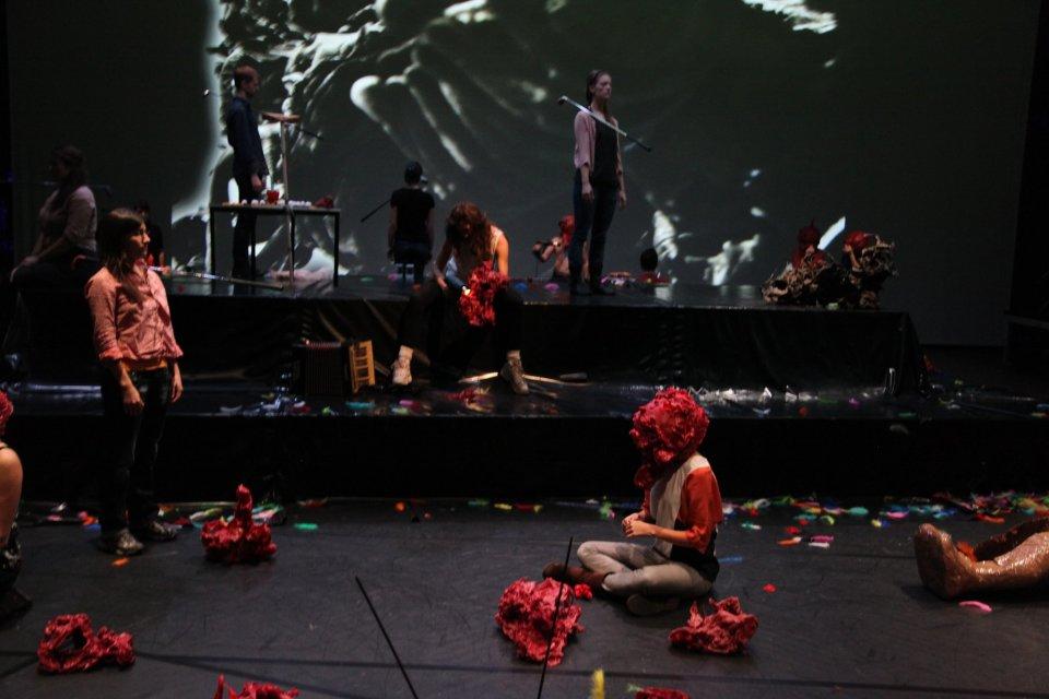 Karl Karner, Performance von Karl Karner & Linda Samaraweerová - Grünwachs Ein, 2012