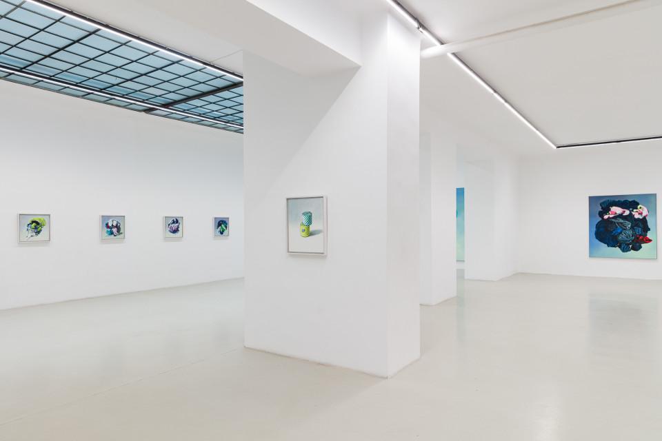 Alina Kunitsyna Installation View XIII: Helium ecstasy, 2019
