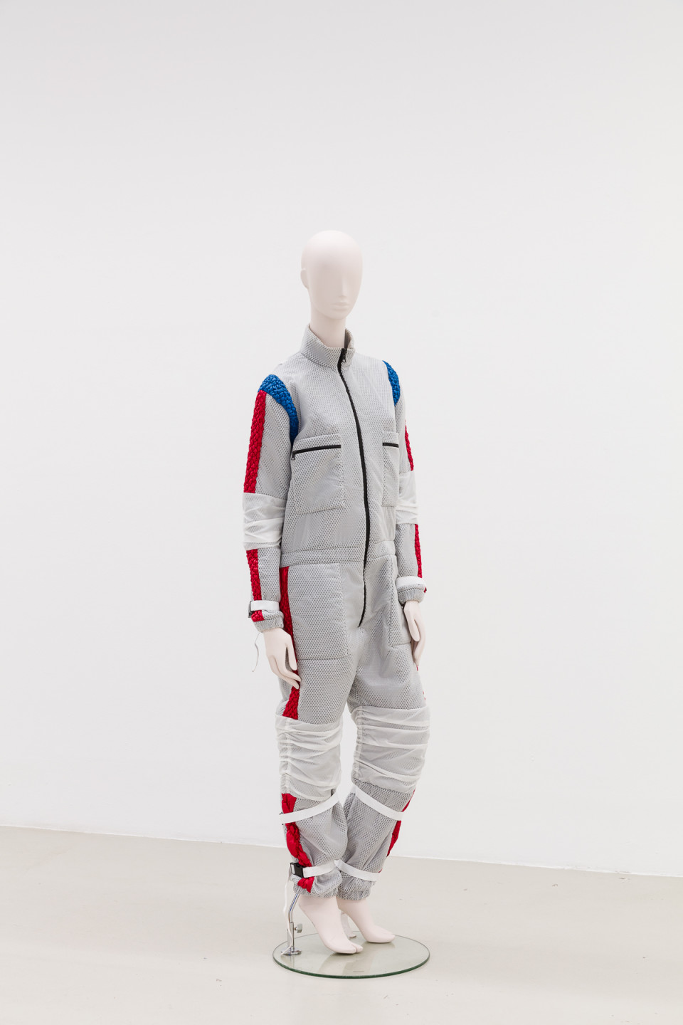 George Henry Longly The Liberator, 2016 Neoprene garment made in collaboration with James Long (Provenance: We All Love Your Life, Red Bull Studios NY 2016) 23 x 76 x 140 cm 9 1/8 x 29 7/8 x 55 1/8 in