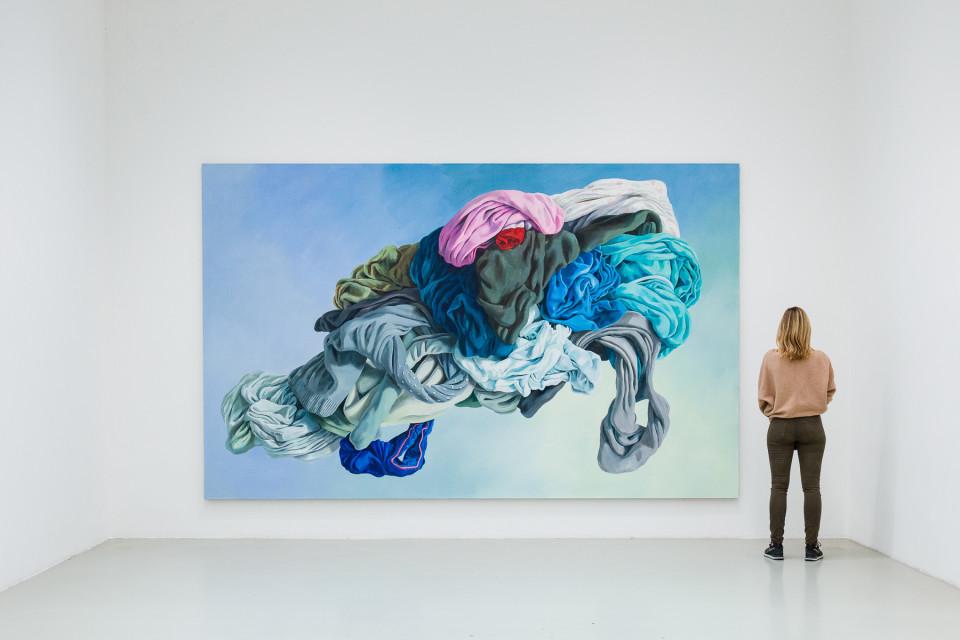 Alina Kunitsyna Installation View IX: Helium ecstasy, 2019
