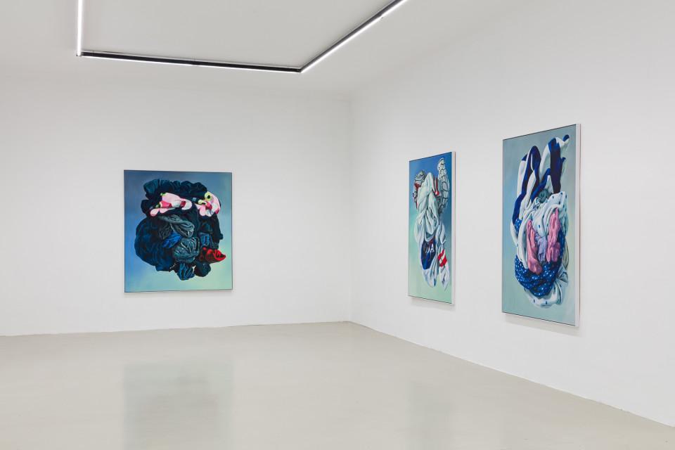 Alina Kunitsyna Installation View XVI: Helium ecstasy, 2019