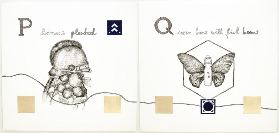 Markus Redl, Ariadnes ABC - P, Q, 2015
