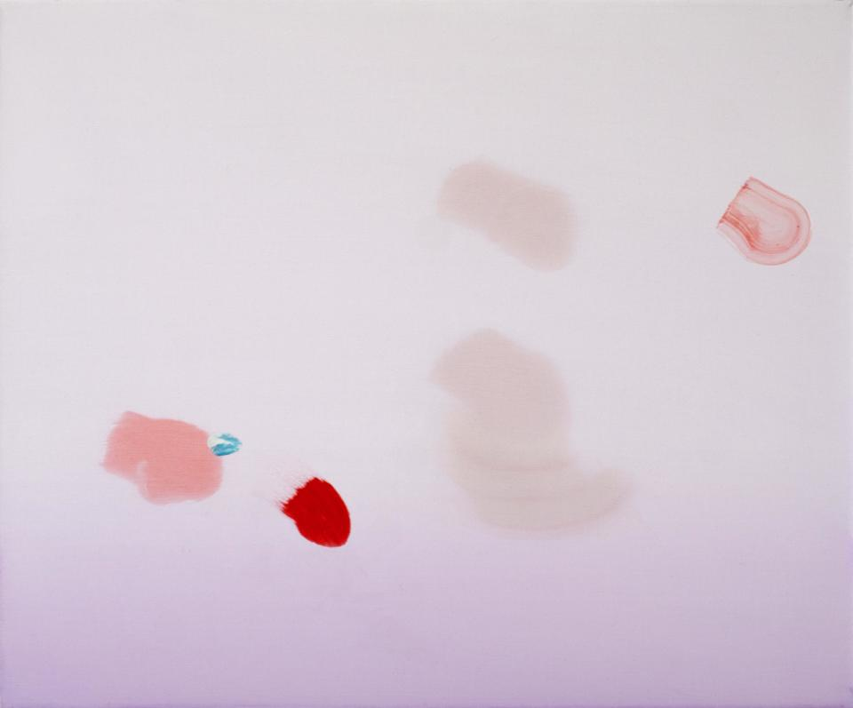 Ville Kylätasku Harder Faster Beautiful, 2017 Oil on Canvas 50x60x4,5 cm