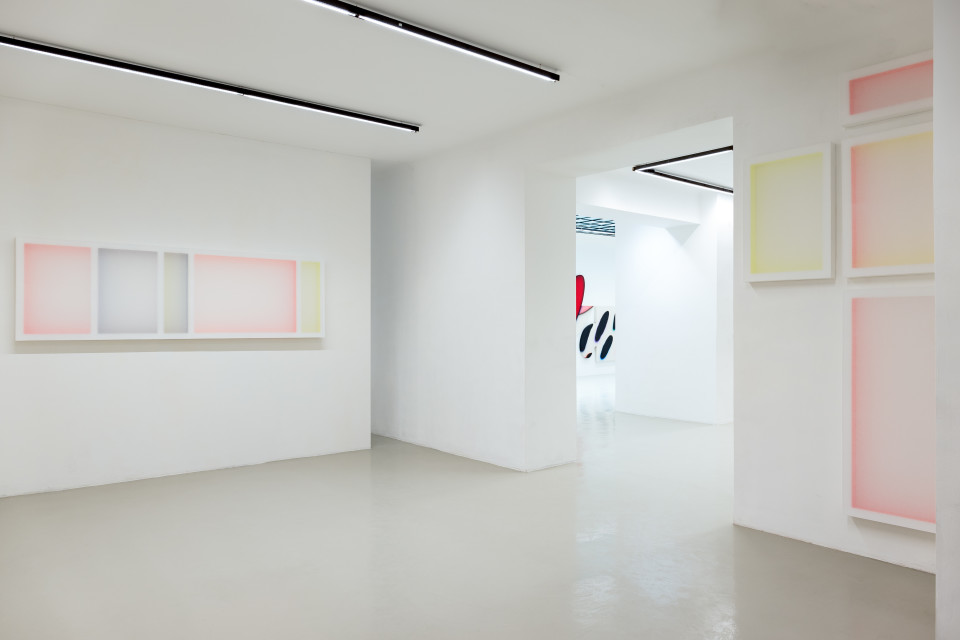 "Patric Sandri ""PAINT(H)INGS"" | Installation View No. 02, 2017"