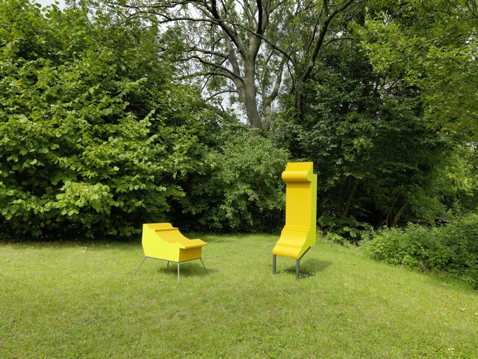 Sculpture Garden Installation view: Jay Gard, 2019