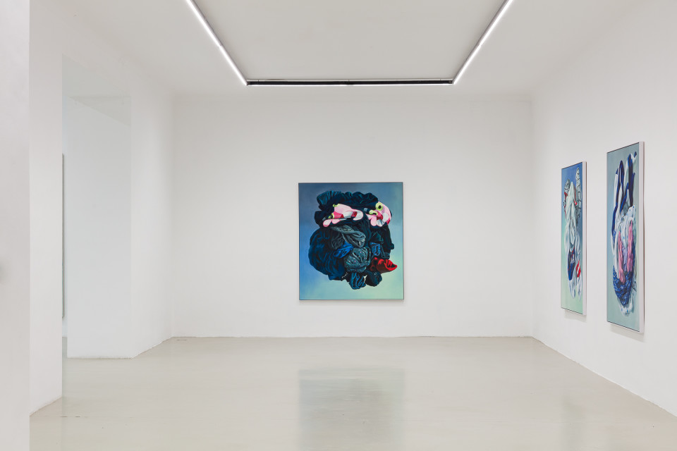 Alina Kunitsyna Installation View XII: Helium ecstasy, 2019