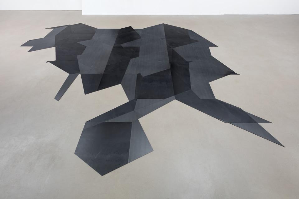 Daniel Steegmann Mangrané SG Floor #128, 2016 Laser cut steel Lasergeschnittener Stahl 0 x 383 x 331 cm 150 3/4 x 130 1/4 in (DSM 130)