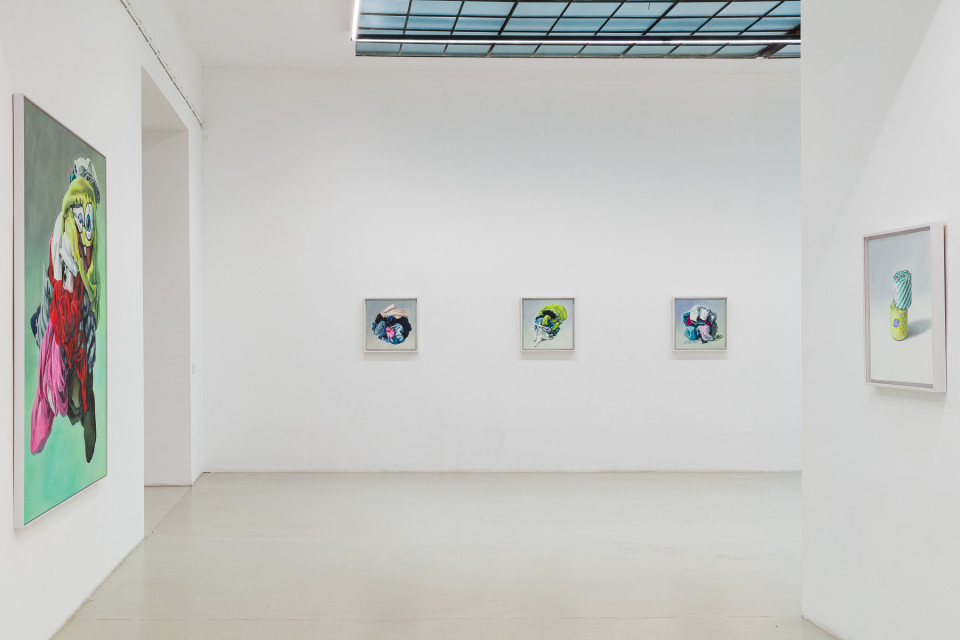 Alina Kunitsyna Installation View XV: Helium ecstasy, 2019