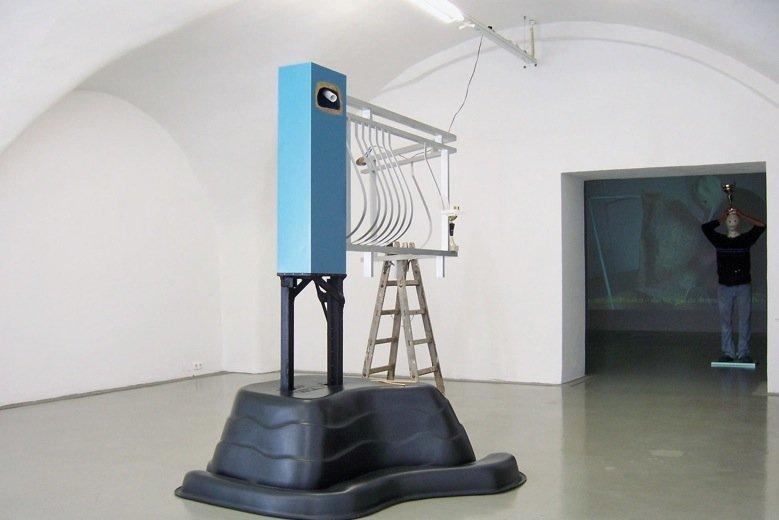 Karl Karner, Geländer. Höher gestellter., 2008