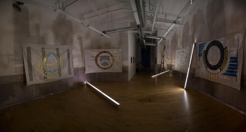 Rodrigo Valenzuela, Installation View: PROLE | CUAC Contemporary Art in Salt Lake City, Utah, 2015