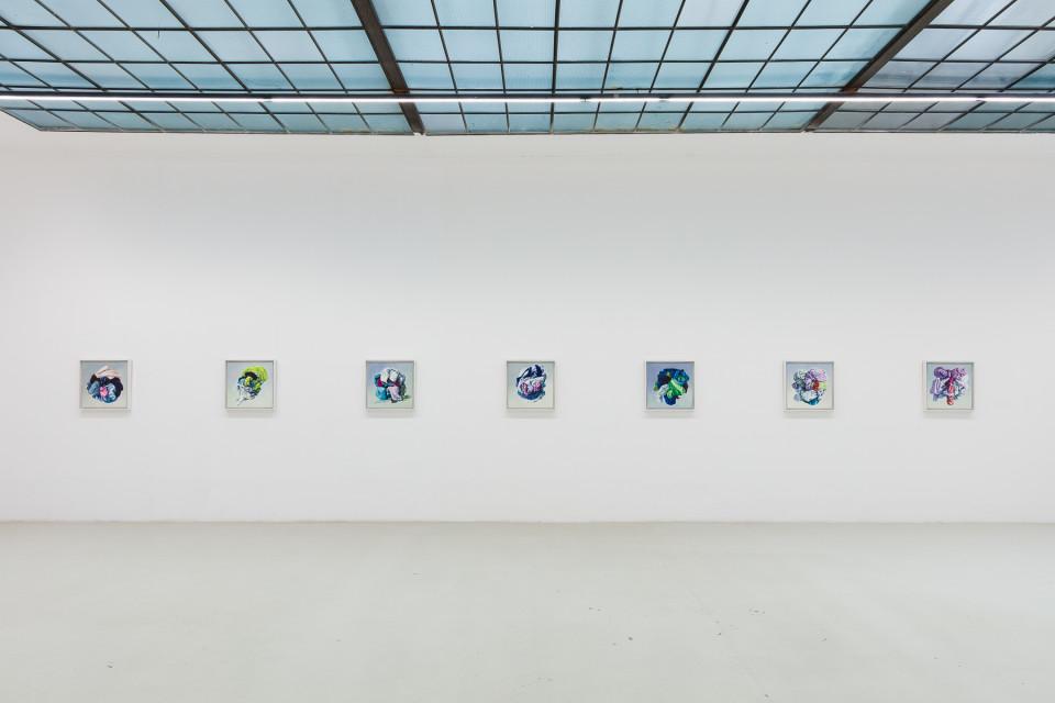 Alina Kunitsyna Installation View VII: Helium ecstasy, 2019
