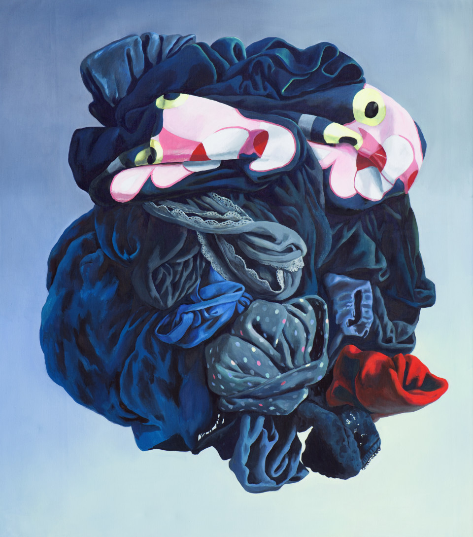 Alina Kunitsyna Die Lust, 2019 Oil on canvas 180 x 160 cm 70 7/8 x 63 in