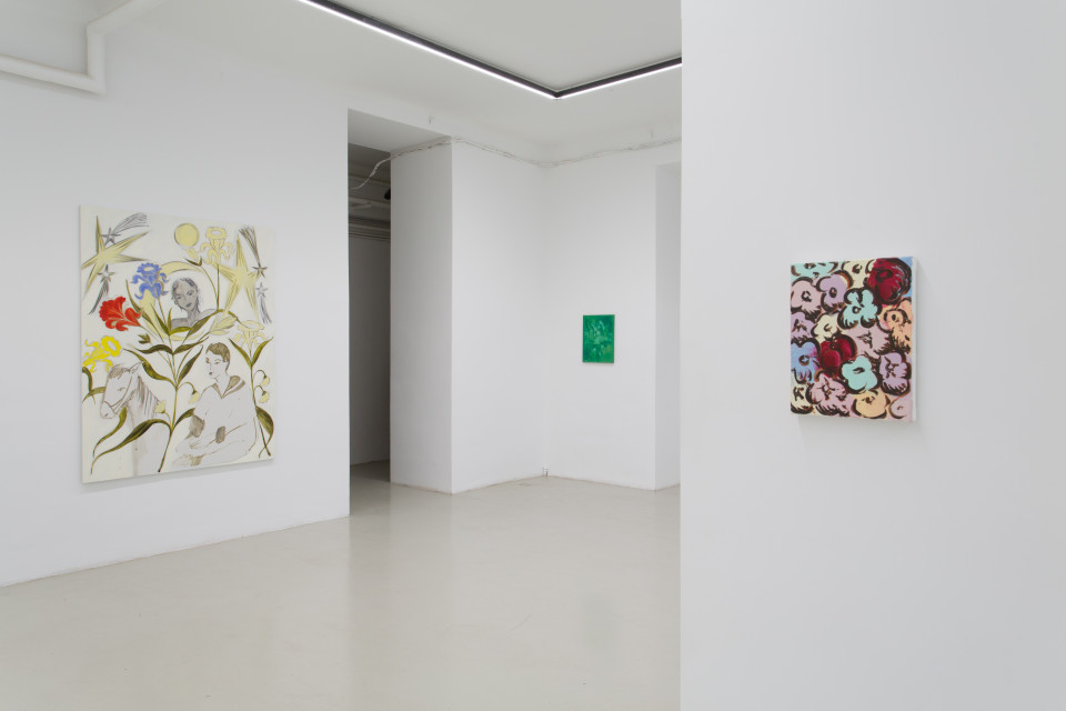 Delphine Hennelly, Kathryn Kerr, Leigh Ruple, Nathalie Shepherd & Faye Wei Wei Installation View XIII, The Picture Is A Forest, 2019