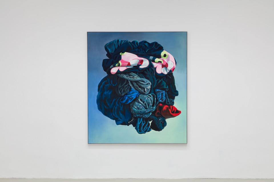 Alina Kunitsyna Installation View XVII: Helium ecstasy, 2019