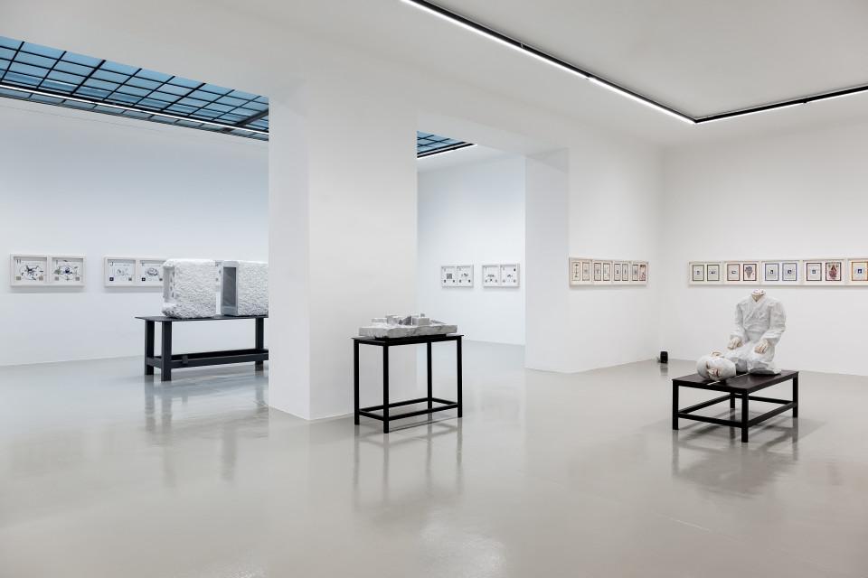 """Markus Redl """"Mudras"""" Installation View No.3, 2017"""