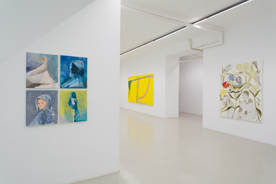 Delphine Hennelly, Kathryn Kerr, Leigh Ruple, Nathalie Shepherd & Faye Wei Wei Installation View II, The Picture Is A Forest, 2019