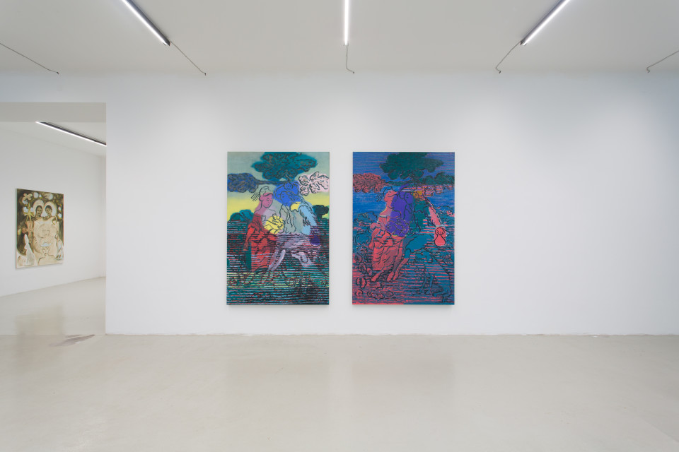 Delphine Hennelly, Kathryn Kerr, Leigh Ruple, Nathalie Shepherd & Faye Wei Wei Installation View IX, The Picture Is A Forest, 2019