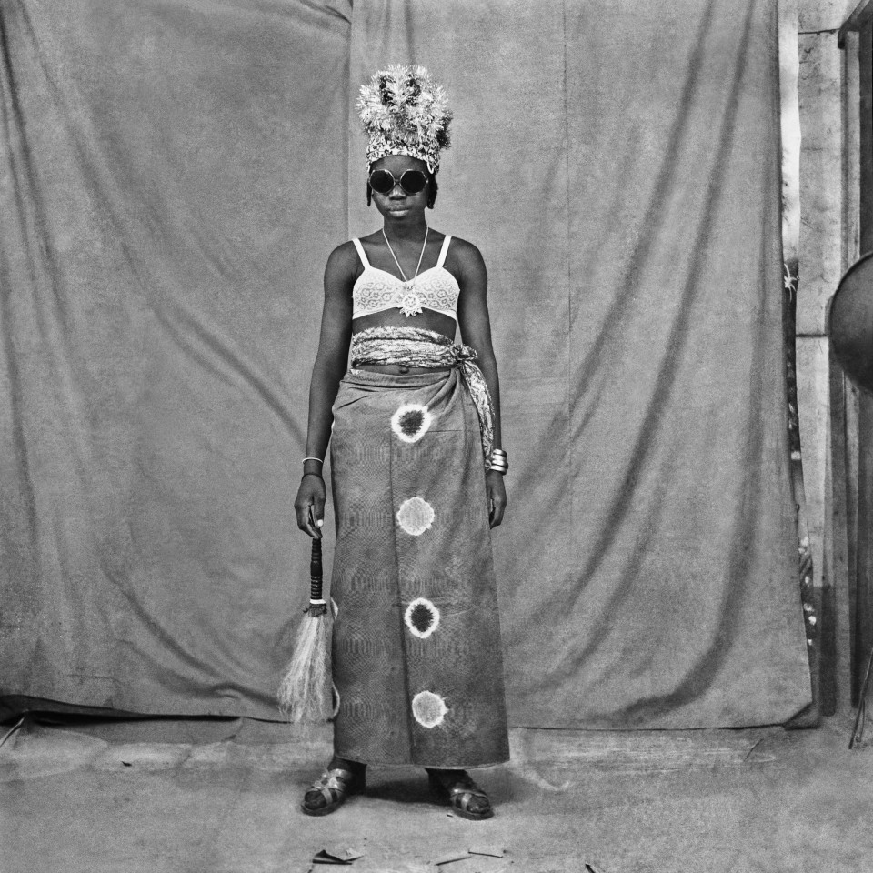 Image: Sanlé Sory  Chasse-Spleen, 1972  signed, dated, titled and numbered verso  gelatin silver print  image size: 14-1/2 x 14-1/2 inches (36 x 36 cm) paper size: 20 x 16 inches (50 x 40 cm)  edition of 15 plus 5 artist's proofs
