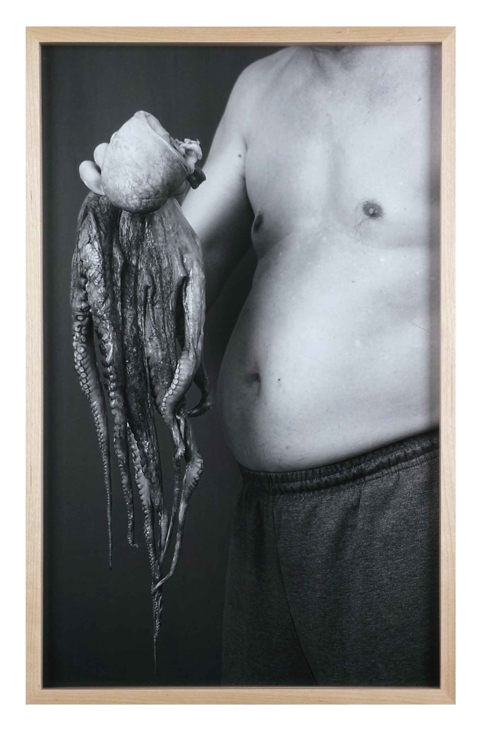 Image: Kenneth Tam  Father with Octopus, 2015  archival inkjet print  21 x 13 inches  edition of 3 and 2 artist's proofs (#1/3)